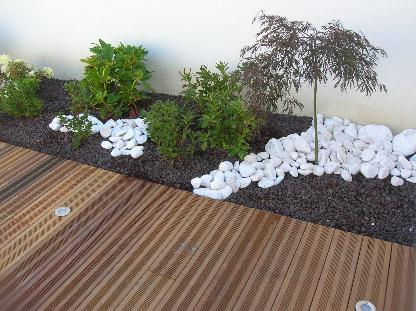 Terrasse for Amenagement terrasse et jardin
