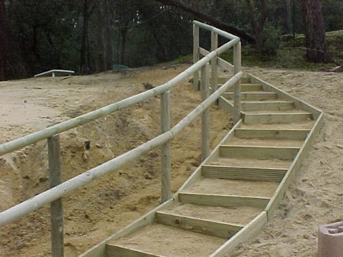 Escaliers for Bois pour barriere exterieur