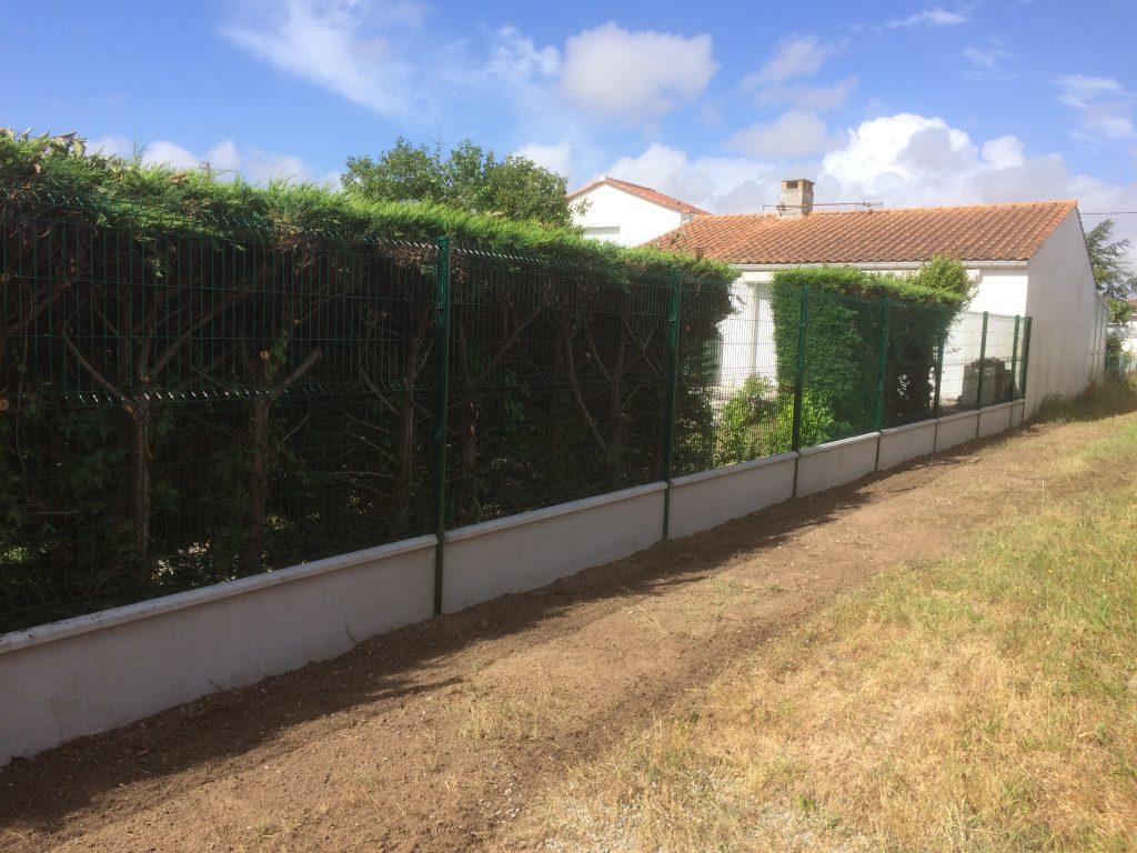 Cl tures lerouvillois s am nagement de jardins for Amenagement cloture jardin